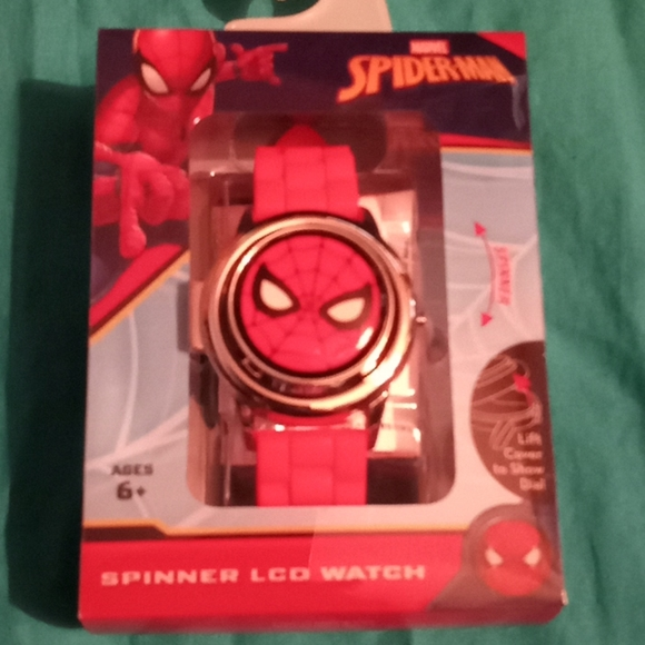 SPIDERMAN SPINNER LCD WATCH